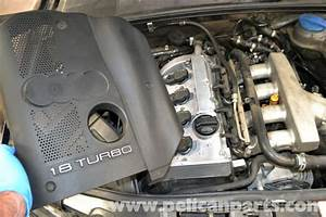 Audi A4 B6 Engine Cover Removal  1 8t 2002