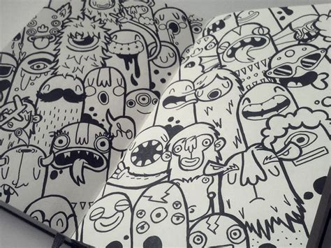 Kumpulan Gambar Dp Bbm Keren Karakter Monster Sketch