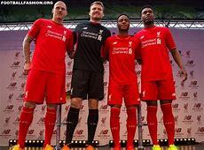 Liverpool FC 201516 New Balance Home Kit – FOOTBALL