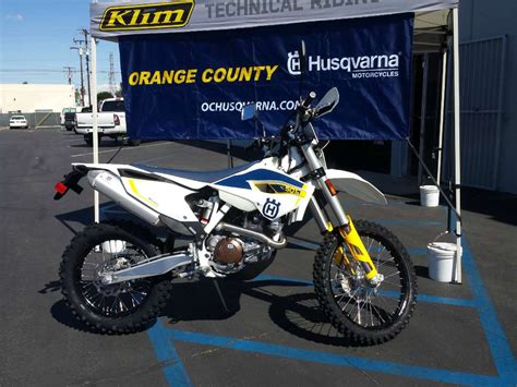 Husqvarna Fe 501 Picture by 2015 Husqvarna Fe 501 S Motorcycle From Orange Ca Today