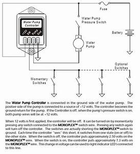 Intellitec Water Pump Controller  10 Amp  Latching  00