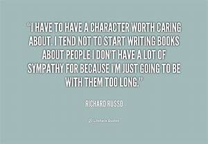 Caring Character Quotes. QuotesGram