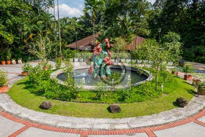 Botanischer Garten Kuala Lumpur by Springbrunnen Im Botanischen Garten Kuala Lumpur