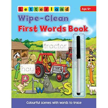 letterland my dictionary etc educational wipe clean words book etc educational technology 93244