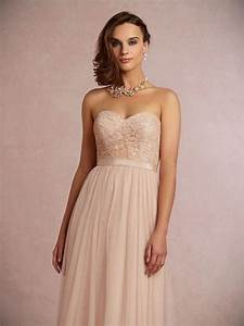 96 rose gold lace bridesmaid dresses bhldn spring 2016 With rose gold lace wedding dress