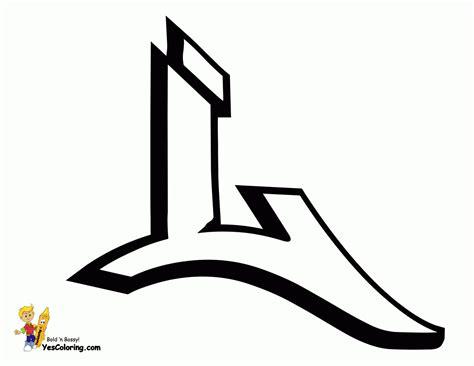 Letter L In Graffiti Tag Graffiti Printables