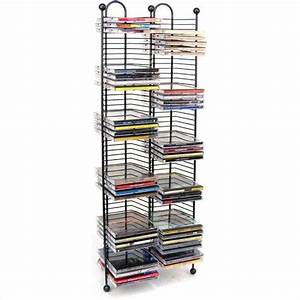 100 Nestable CD Storage Tower in Gunmetal - 63705079