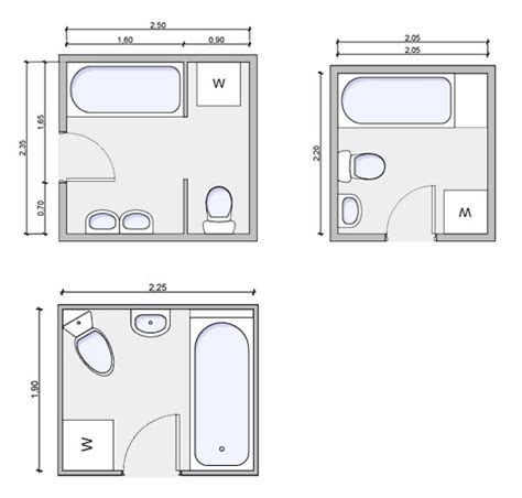 Floor Plan Small Bathroom by Fantastic Small Bathroom Floor Plans Small Bathroom Floor