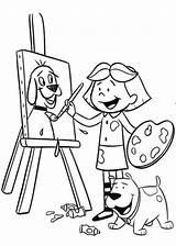 Coloring Paint Microsoft Clifford Perro Rojo Gran Template Easel Paintbrush Dog Printable Animados Dibujos Manet Edouard Colorings Templates Getcolorings sketch template