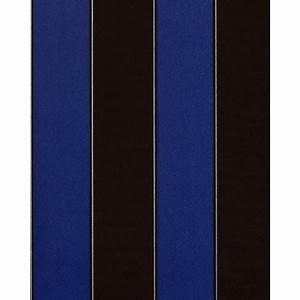 Papier Peint Rayé : papier peint de luxe n o baroque edem 771 37 ray brun fonc bleu royal argent ~ Melissatoandfro.com Idées de Décoration