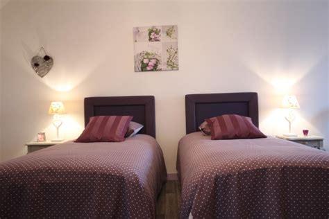 partager une chambre en deux la dame de luormel avec lits jumeaux de cm pour