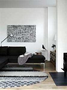 inspiration un tapis pour le salon cocon de decoration With tapis deco salon