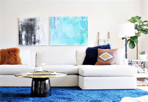 How To Decorate A Large Wall  Space + Habit