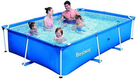 frame pool bestway bestway deluxe splash frame pool best above ground pool