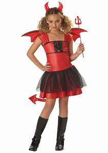 Girls Darling Devil Costume - Devil Halloween Costumes for ...