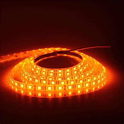 orange led lights alitove 16 4ft 5050 smd orange led light
