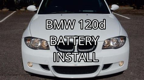 bmw  battery install youtube