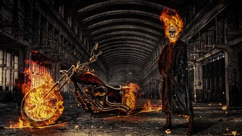 141 Ghost Rider Hd Wallpapers  Background Images