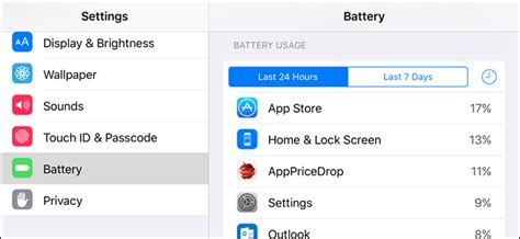 what is draining my iphone battery how to see which apps are draining your battery on an
