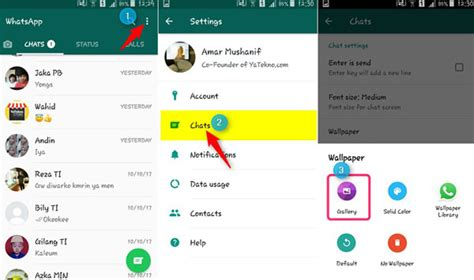 2 Cara Mengganti Background Chat Whatsapp Di Android