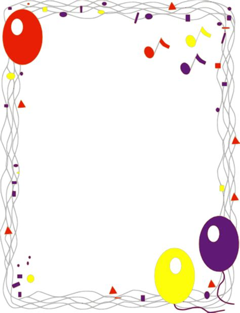 Balloon Decorations Orange County by Cidyjufun Clip Art Borders Food