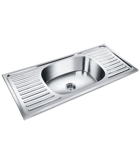 kitchen sink comparison deepali stainless steel kitchen sink available at snapdeal 2635