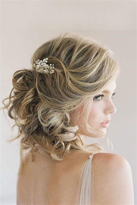 short wedding hairstyle ideas  good youd   cut