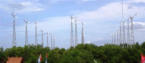 dibangun  tower angin  bantul pembangkit listrik