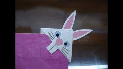 diy    bunny rabbit bookmark youtube
