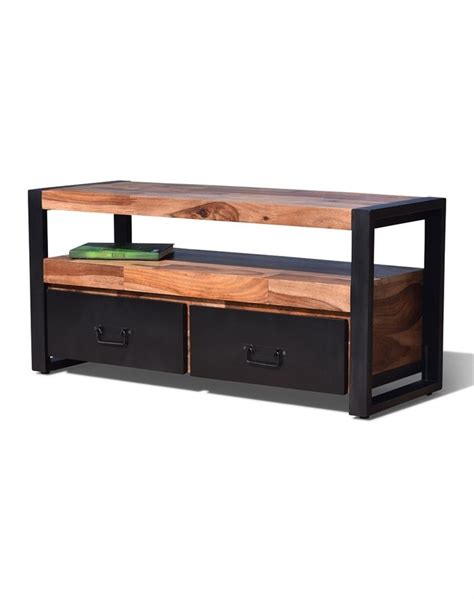 tv möbel 110 cm tv bord hayfay i l 230 ngde 110 cm massivt rosentr 230 til