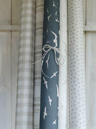 coastal fabric collection peony  sage curtains