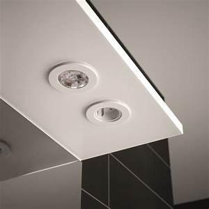 Meuble de salle de bain prefixe portes aquarine for Miroir salle de bain avec interrupteur et prise