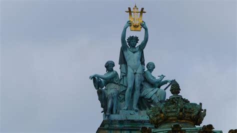 Les statues de l'Opéra - Le groupe d'Apollon