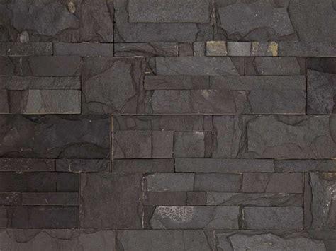 mur en ardoise interieur carrelage sol et mur parement parement mur naturelle 18x35cm zeta noir