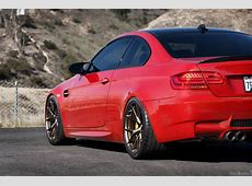 Melbourne Red BMW M3 Is Back, Showing Us the Good Stuff