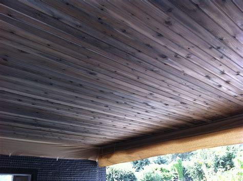 natural grey wood stain  cedar soffit modern kelowna