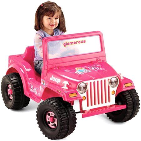 fisher price power wheels barbie jeep  volt battery