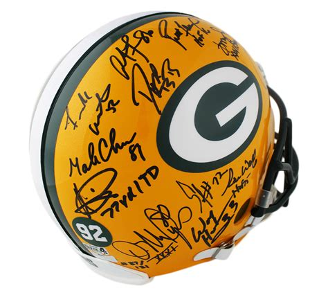 Super Bowl Xxxi Champions Packers Full Size Authentic On