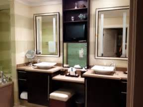 terrific single sink bathroom vanity with makeup table using square vessel basin including