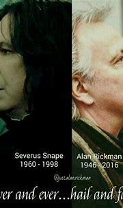 Happy Birthday Profesor Snape 🐍💚 | Harry Potter Amino