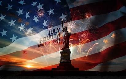 July Independence Liberty Statue Desktop Fourth Desktopwalls