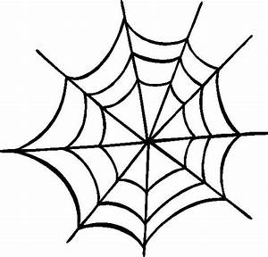 Spider Web Outline - Cliparts.co
