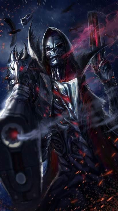 Reaper Grim Wallpapers Cool Badass Dark Skull