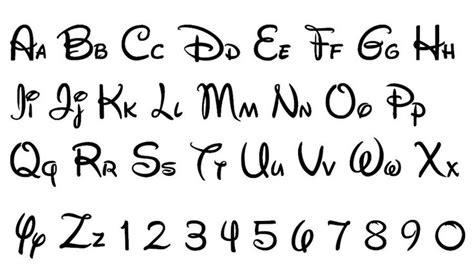 8 Best Images Of Walt Disney Font Letter Printables