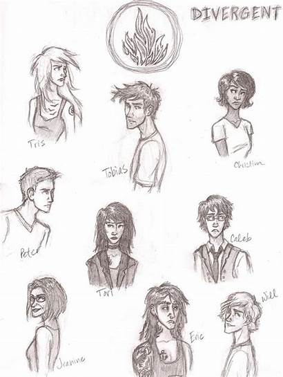 Divergent Fan Divergente Dessin Character Characters Drawings