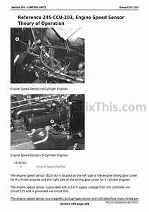 John Deere 5225  5325  5425  5525  5625  5603 Diagnostic Technical Manual  Tractors   U00ab Youfixthis