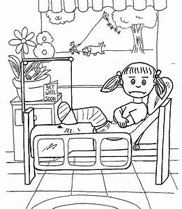 hospital coloring pages for kids printable   Just Colorings
