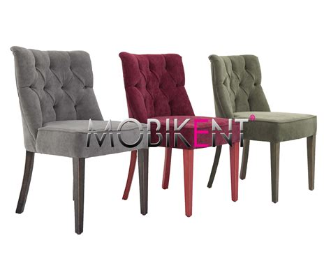 chaise capitonné chaise meknes ch117 lyon mobikent