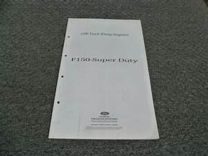 1996 Ford F350 Truck Electrical Wiring Diagrams Manual Xl