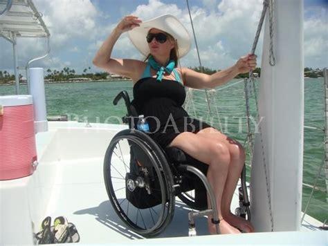 wheelchair travel florida keys fishing deborah davis woman boat vacation sea lake access accessible female photoability